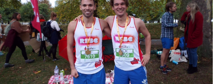 Two Royal Parks runners