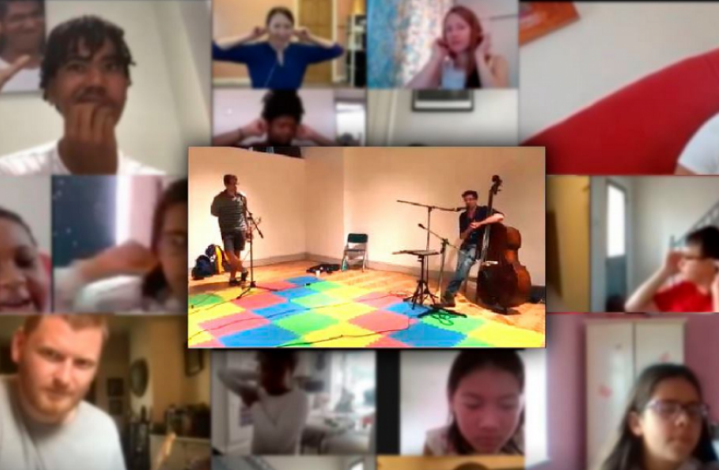 RPO and participants on Zoom