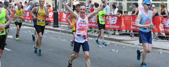 An image of Virgin Money in London Marathon