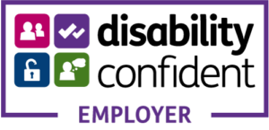 The Disability Confident employer logo